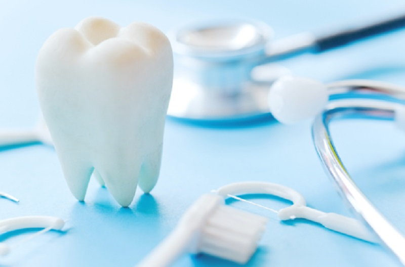 Tooth and Dental Hygiene Items at Dentist - Tooth Replacements
