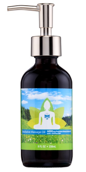 Meditative Massage Oil by Herbal Infusions