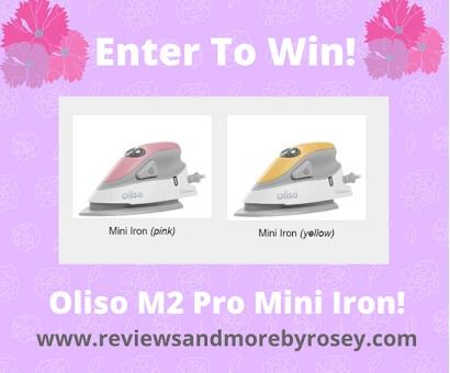 Oliso M2 Mini Iron Giveaway