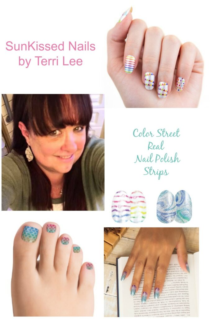 Sunkissed Nails by Terri Lee - Lock-Down Activities