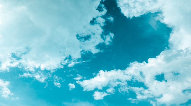 White fluffy clouds in a blue sky - Improving the Air Quality in Your Home