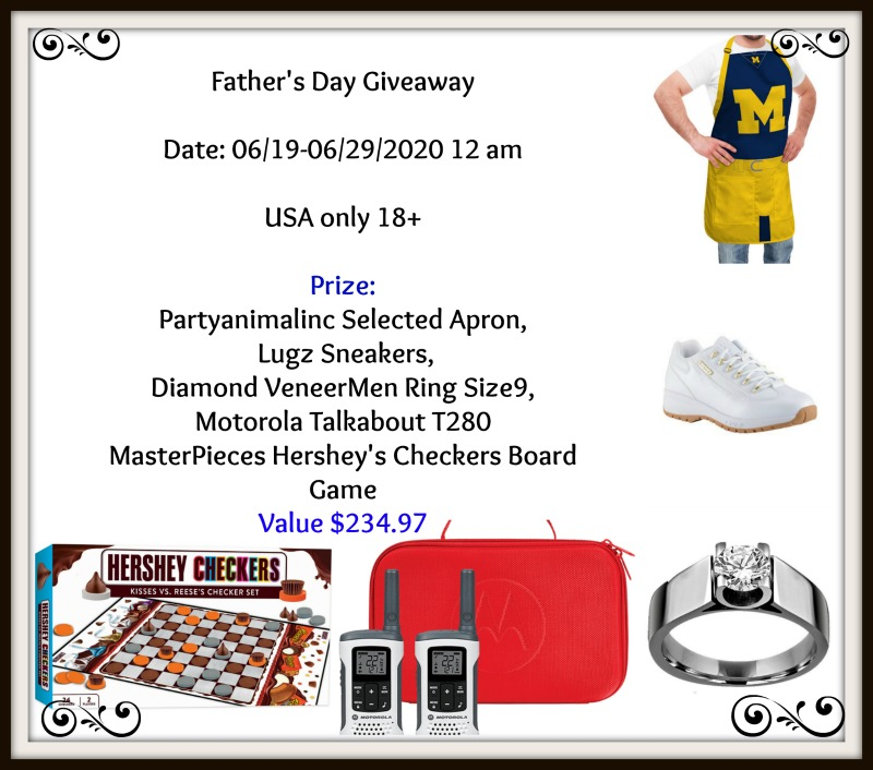 Father's Day Giveaway Button