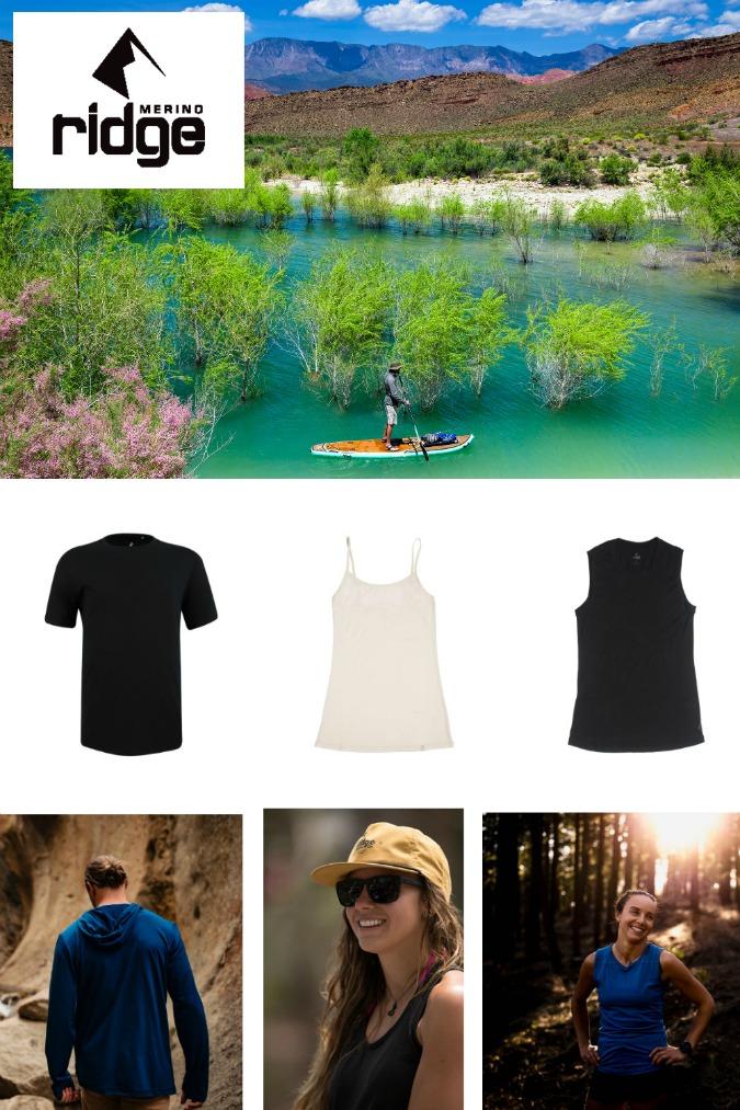 Ridge Merino - 2020 Summer Fun Summer Travel Gift Ideas and Buying Guides