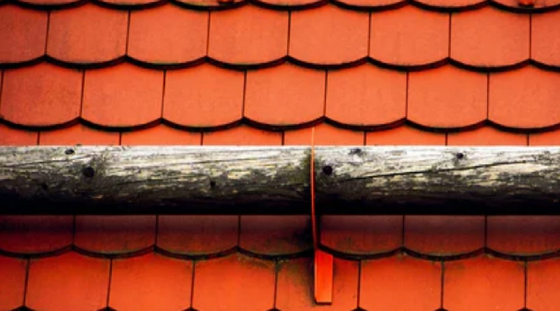 Orange Roof Tiles - Roof Painting
