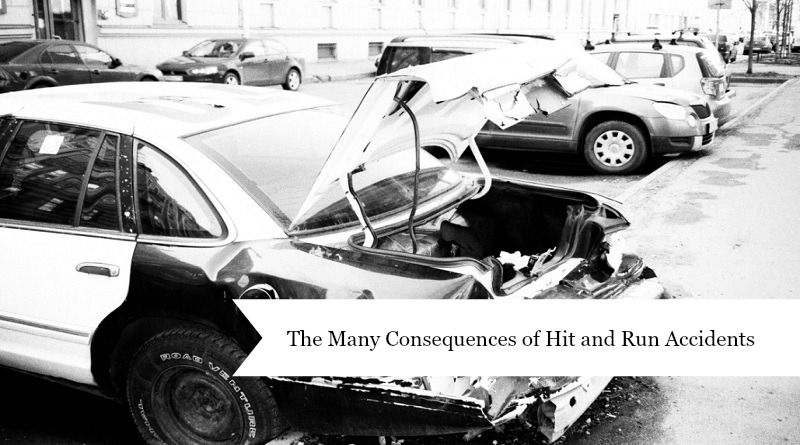 Wrecked Car in Parking Lot - Hit and Run Accidents