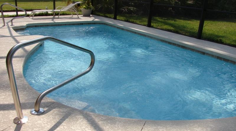 Backyard Swimming Pool - Digital Pool Thermometer