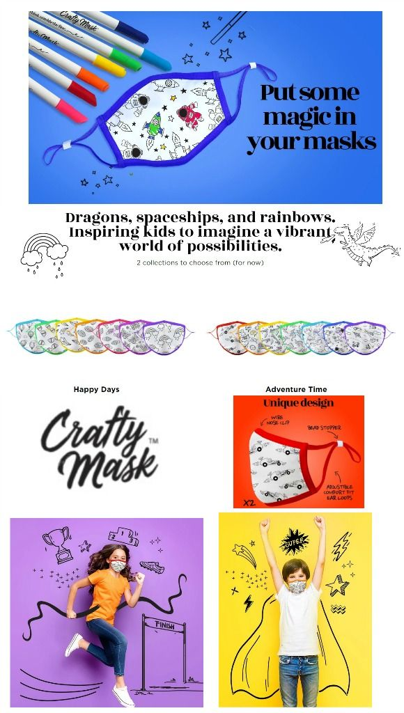 Crafty Mask - 2020 Virtual Baby Shower Gift Ideas and Buying Guide