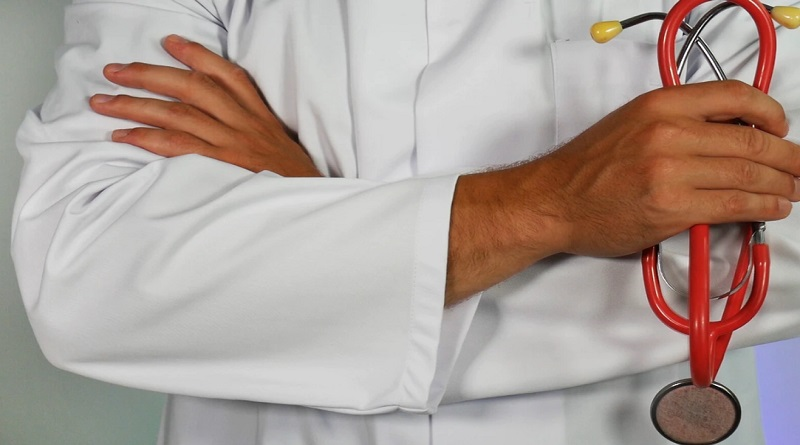 Doctor in White Coat with Stethoscope - Talking to Your Primary Care Doctor