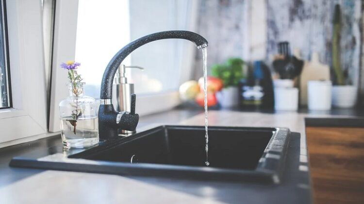 Water running out of faucet in kitchen sink - Common Causes Of Blocked Sinks And Drains