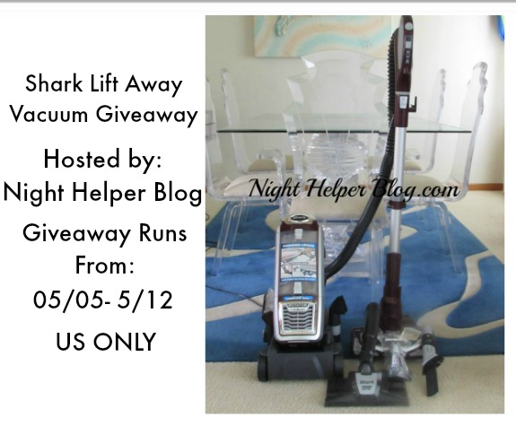 Shark Lift Away Vacuum Giveaway