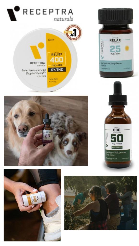Receptra Naturals Products