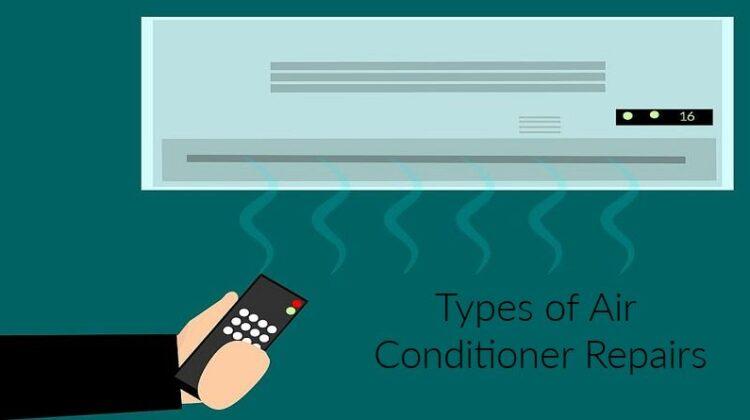 A C Unit - Types of Air Conditioner Repairs