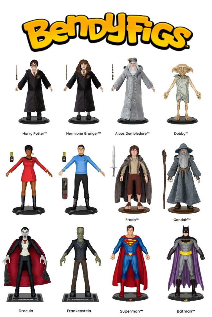 BendyFigs - 2020 Holiday Gift Ideas and Buying Guide: For the KIDS