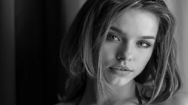 Black and White photo of a lovely young woman - Enhance Your Natural Beauty