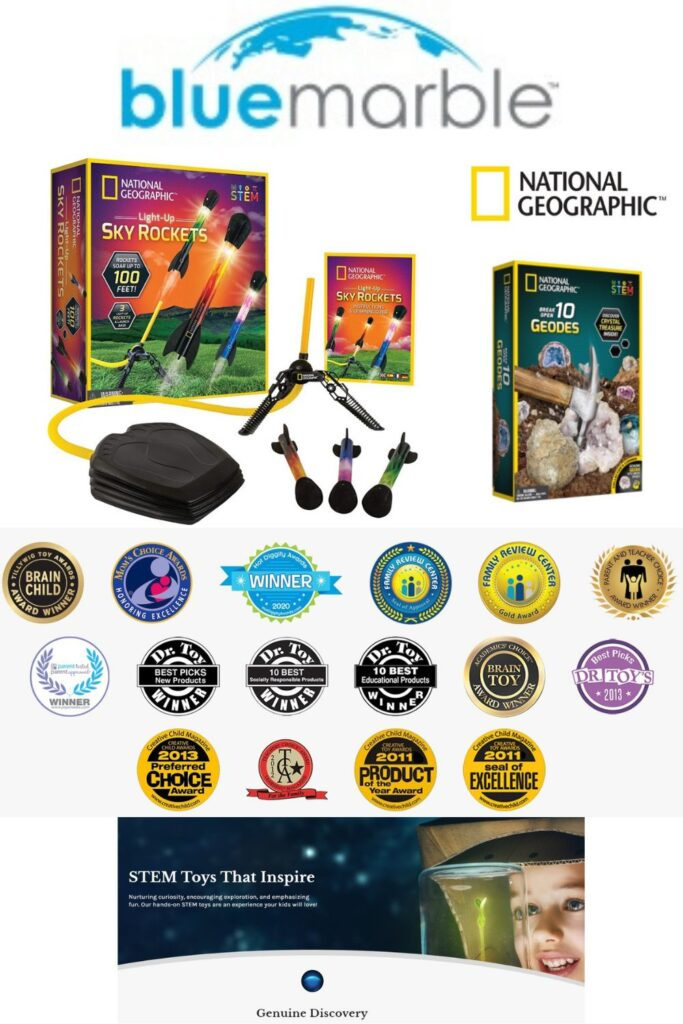 Blue Marble / National Geographic - 2020 Holiday Gift Ideas and Buying Guide: For the KIDS