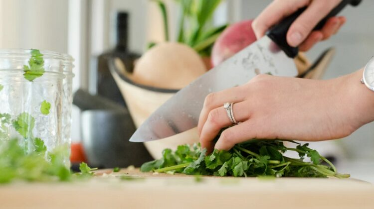 Chopping Herbs - How To Cook Like A Pro