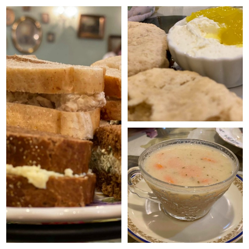 Scones, Soup, and Sandwiches - Erika's Tearoom and The Great Floridian Marketplace