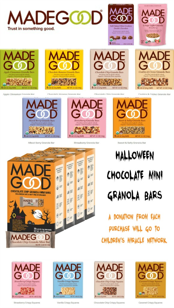 MadeGood Snacks and Granola - 2020 It's Fall Y'all Gift Ideas and Buying Guide