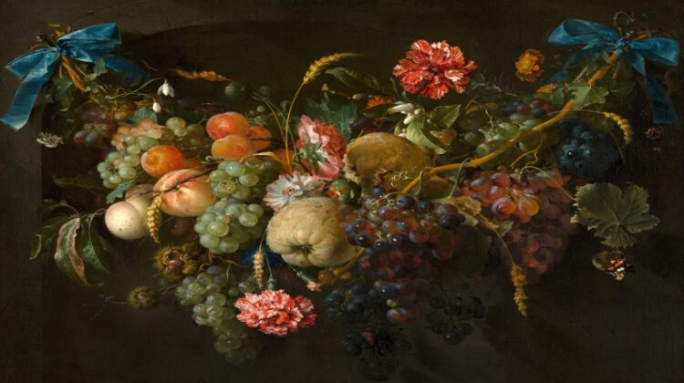Oil Painting of Fruits and Flowers - About Oil Painting