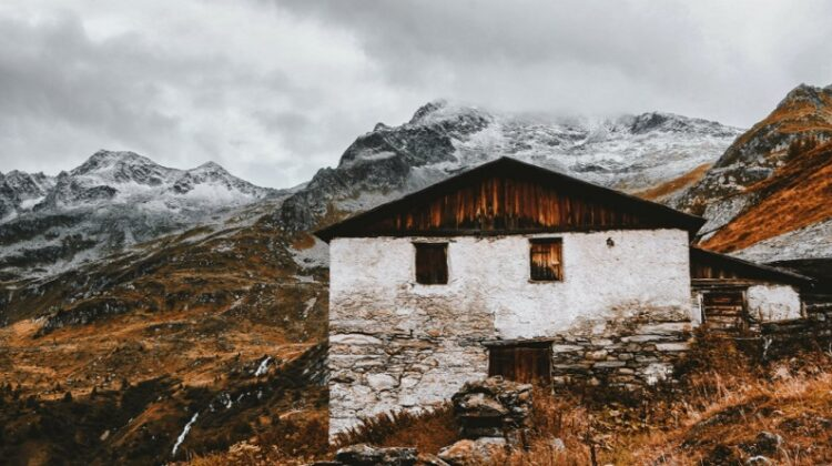 Old stone home on cold barren mountainside - Is Your Home Ready for the Winter