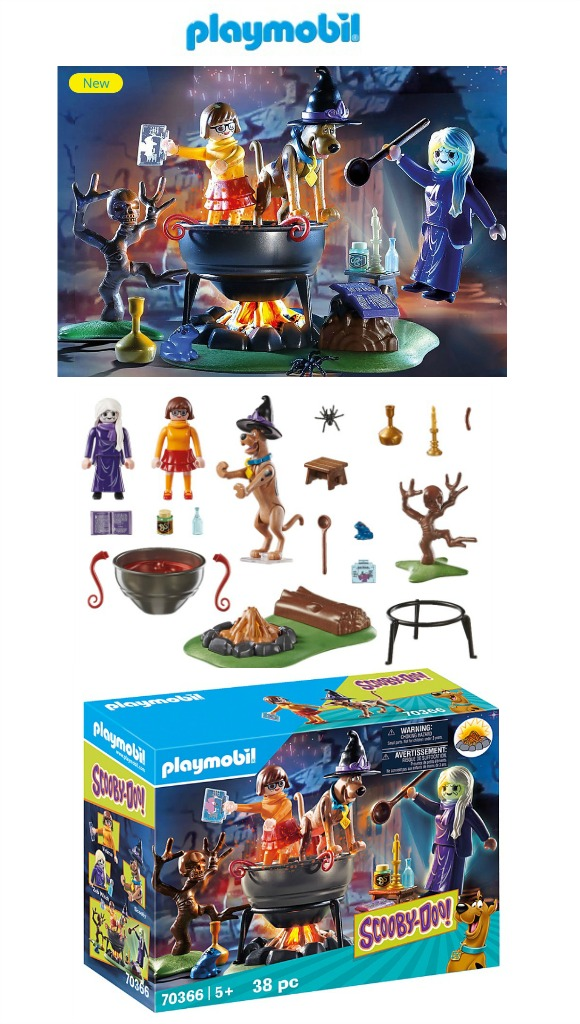 Playmobil Scooby-Doo Adventures of the Witch's Cauldron - 2020 It's Fall Y'all Gift Ideas and Buying Guide