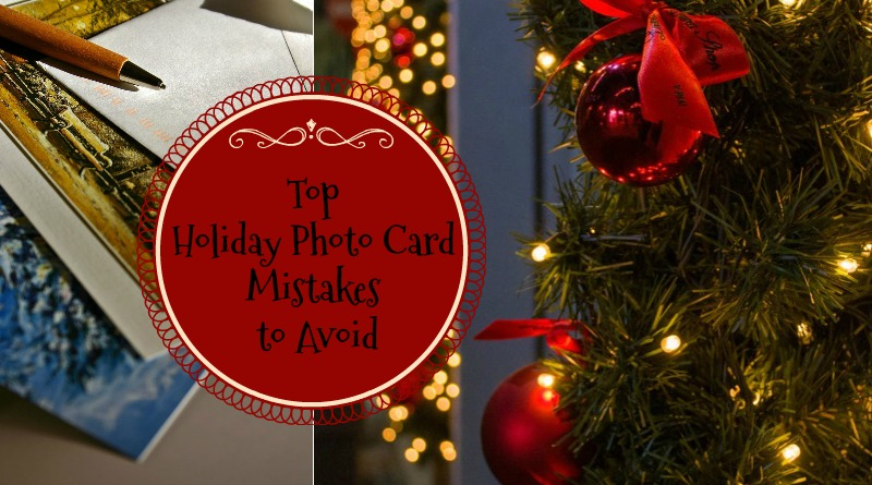 Holiday Photo Card Mistakes
