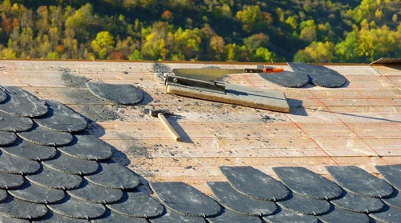 Roof under repair - Roofing Contractor