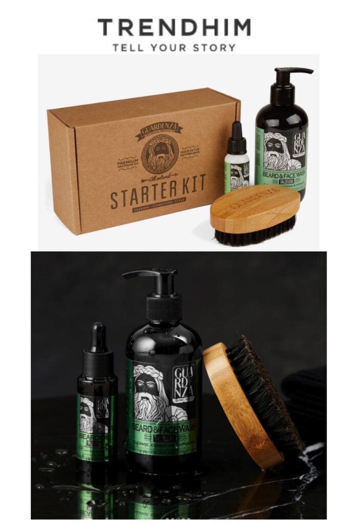 Beard Starter Kit from Trendhim - 2020 Holiday Gift Ideas and Buying Guide - For Him