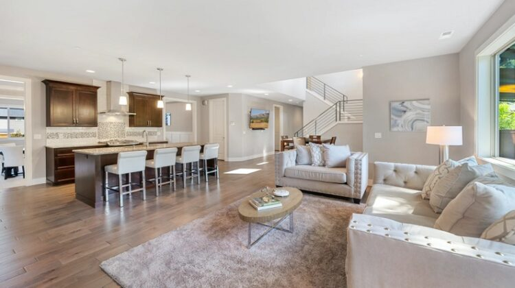 Open Floor Plan Living Dining - Caring For Your Wooden Floors