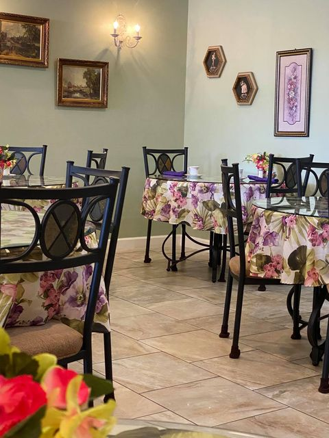 The dining area - Erika's Tearoom and The Great Floridian Marketplace