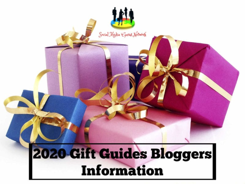 2020 Gift Guides Bloggers Information