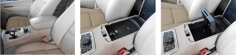 Console Vault in SUV