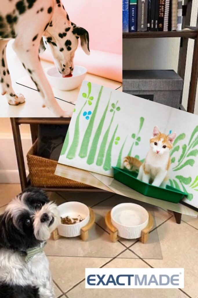 ClearSpace Mats for Pet use from ExactMade ExactMats