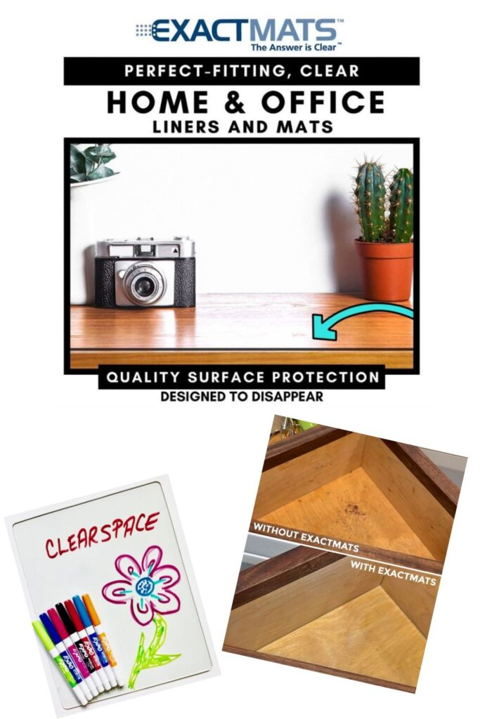 ClearSpace: Multi-Purpose Protective Utility Mats for home use from ExactMade ExactMats®