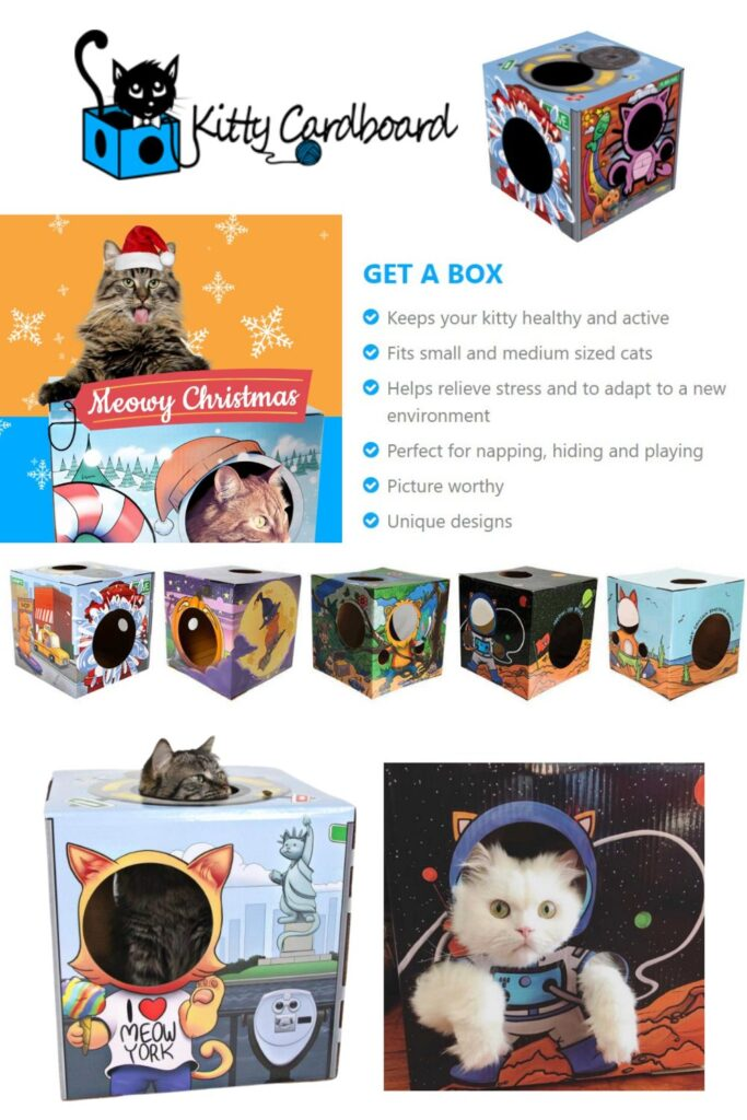 Kitty Cardboard 2020 Holiday Gift Ideas and Buying Guide: Pets
