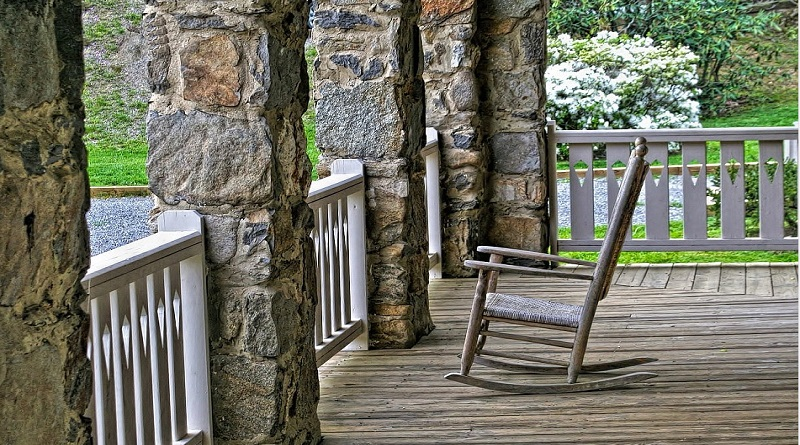 Rocking Chair on Rustic Veranda Three Great Reasons to Add a Veranda to Your Home