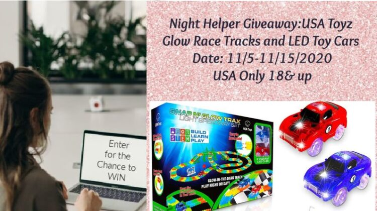 USA Toyz Glow Race Tracks and LED Toy Cars Giveaway