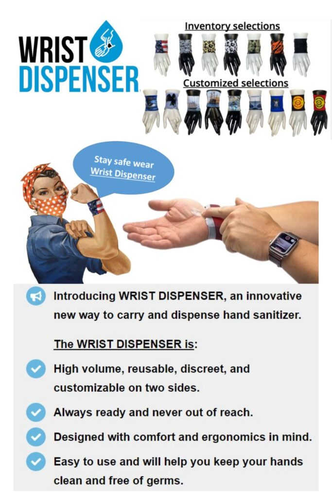 Wrist Dispenser 2020 Holiday Gift Ideas and Buying Guide: Stay Safe Stay Healthy