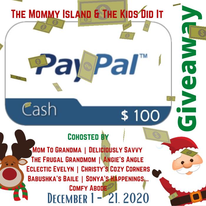 December PayPal Cash Giveaway