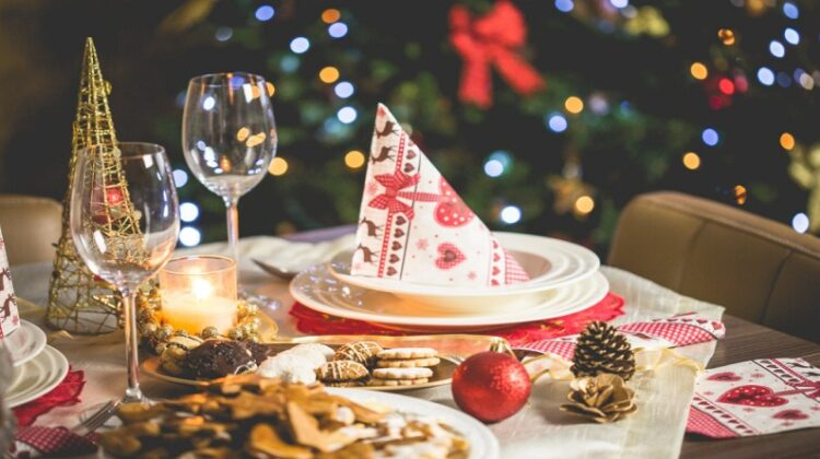Heart Warming Yuletide Party Decorated Christmas Table