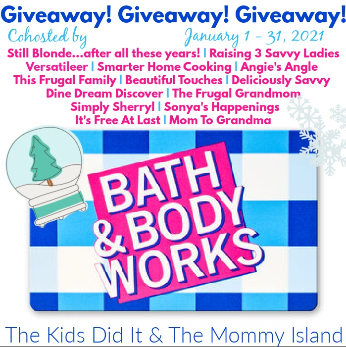Bath and Body Works Giveaway