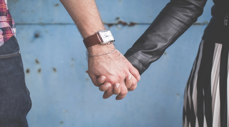 Differences in Dating Culture Couple Holding Hands