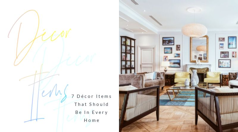 Décor Items That Should Be In Every Home Lovely Living room with wood floors and blue area rug
