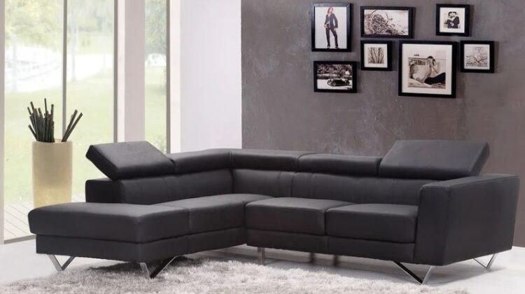 Modern Minimal Grey Living Room