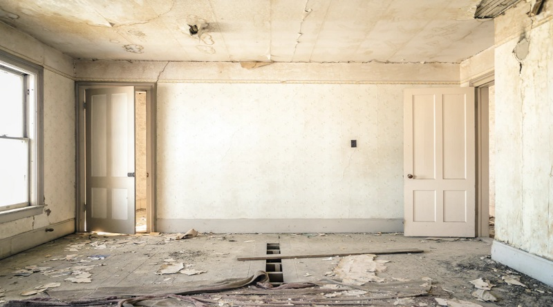 Remodeling Your Home Room in the middle of major renovations