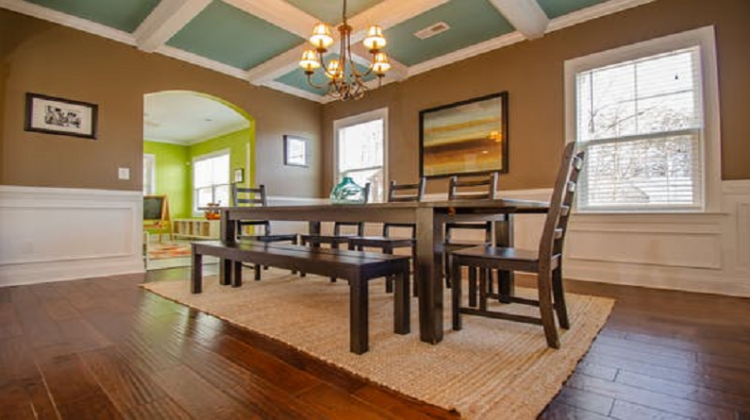 Neutral Dining Room remodeling your old dining room