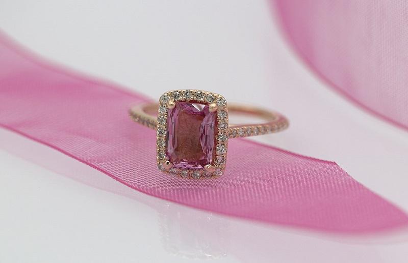 Argyle Diamonds Pink Diamond Ring