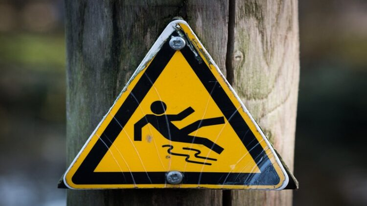 Slippery when wet sign symbol Is Your Slip and Fall Claim Valid