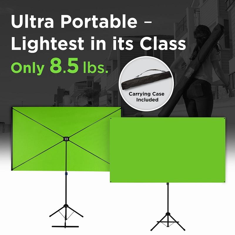 The Explorer 90 Professional Green Screen Bundle from Valera Screens