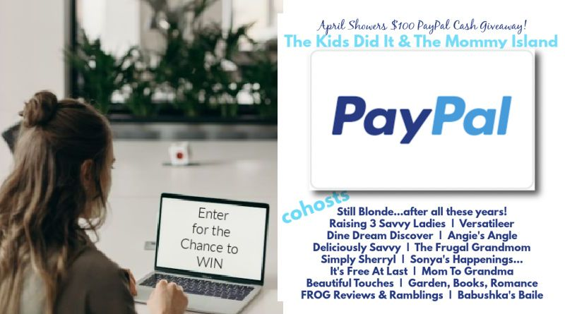PayPal Giveaway April